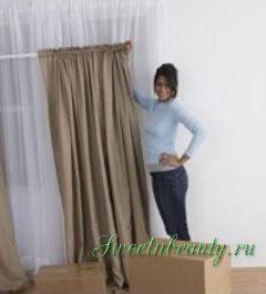 Как пошить шторы своими руками