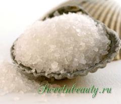 Поваренная соль для волос