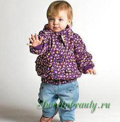 Весенняя одежда для ребенка